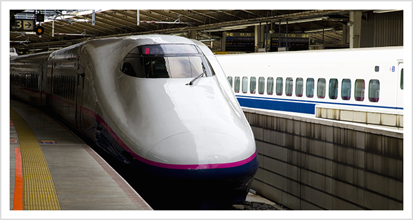 東海道・山陽新幹線でご来院される方