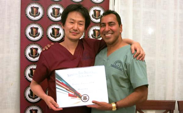 国際歯科インプラント協会(IDIA)専門医資格取得