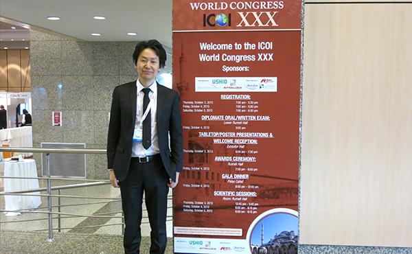 トルコ インターンプールにてICOI学術大会に参加、世界のインプラント治療最前線を学びました