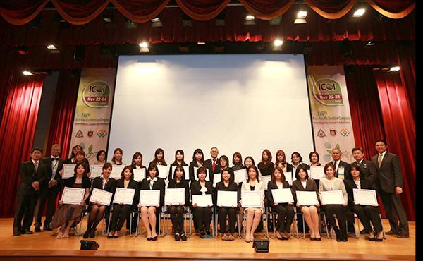 台北にて、ADIAの専門衛生士フェロー資格取得